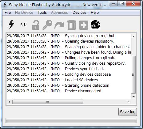 XperiaZ1をflashtoolで初期化した時の備忘録
